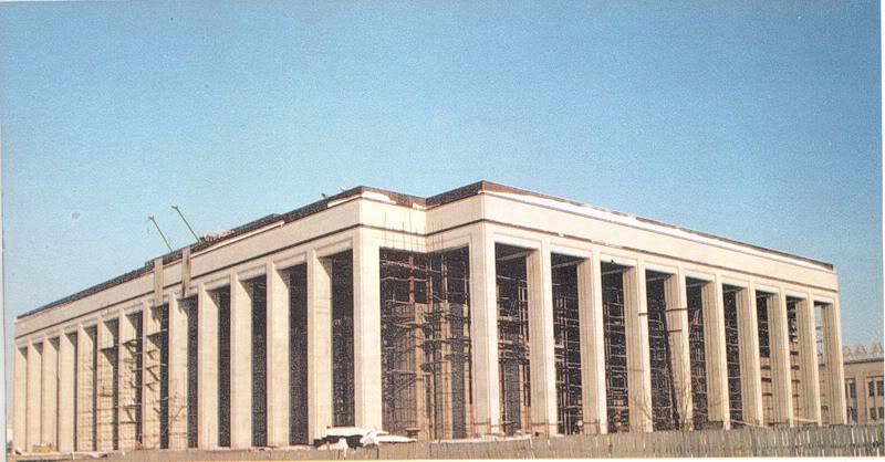 Строительство Дворца Республики, 90-е.