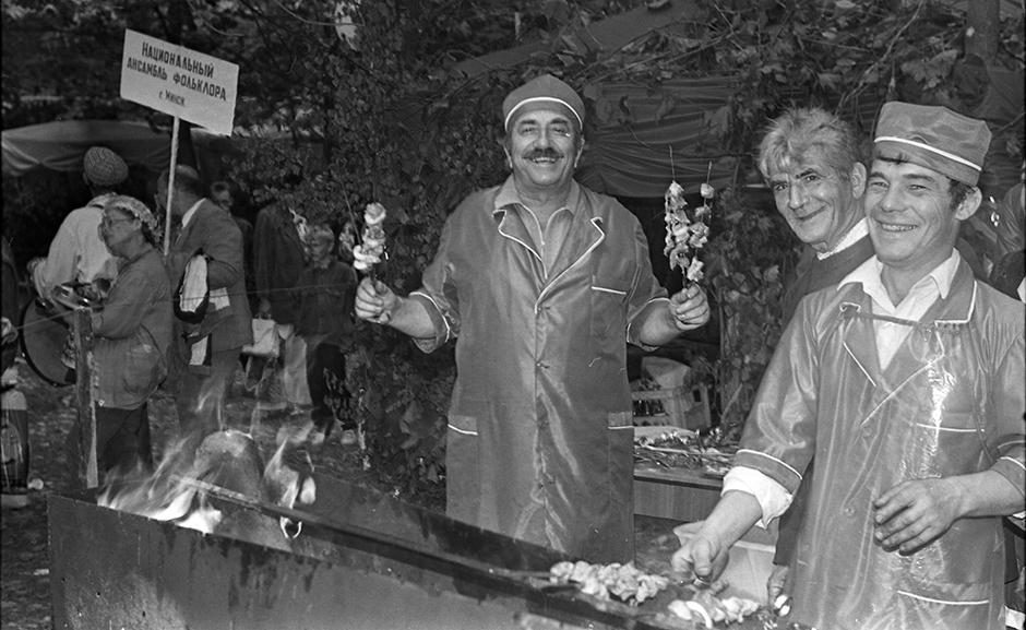Столин, 1996 г. Фото из белорусского государственного архива кинофотофонодокументов.