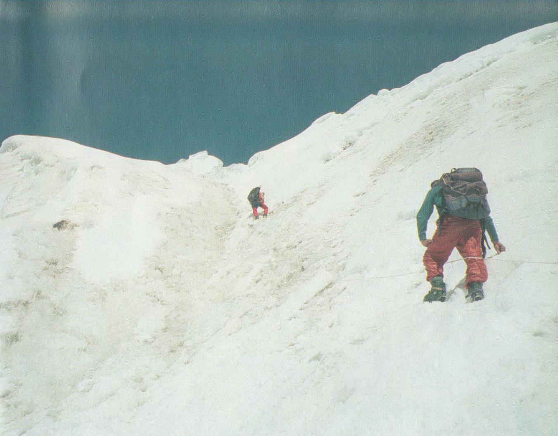 Путь к лагерю на 6300 м