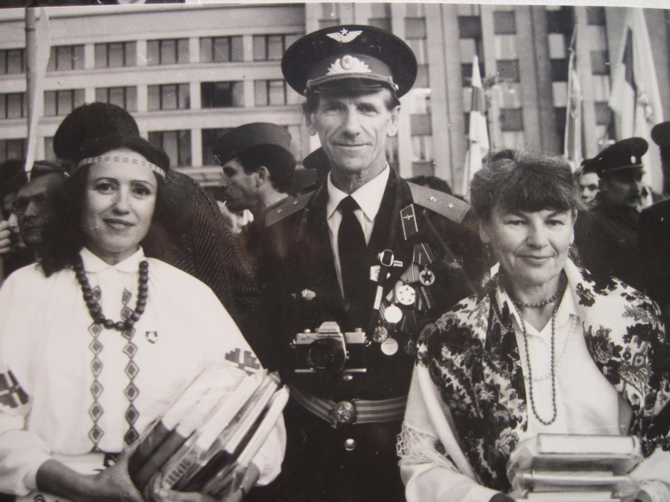 На прысяге Беларусі 8 верасня 1992 года.