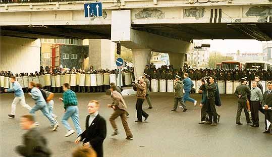 «Чарнобыльскі шлях». Моладзь ваюе з АМАПам на Нямізе