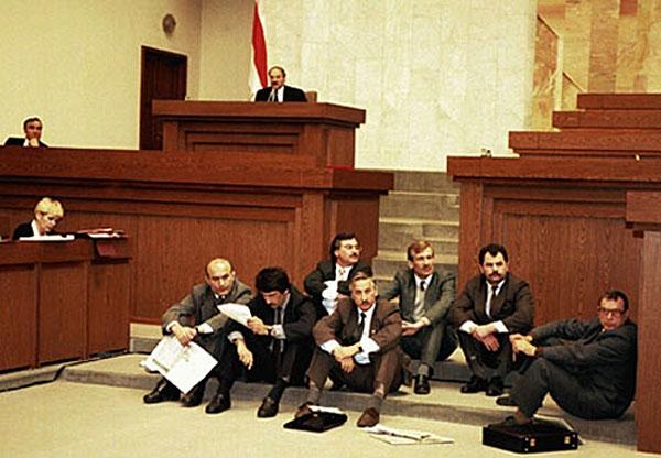 Галадоўка дэпутатаў Вярхоўнага Савета