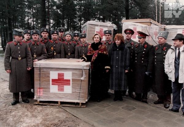 Хиллари Клинтон привезла в Беларусь гуманитарную помощь
