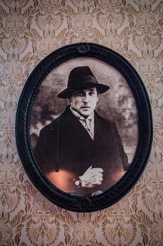 Шагал у маладосці, з экспанатаў музея