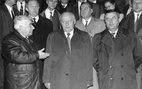 Семен Шарецкий, Егор Строев и Геннадий Селезнев